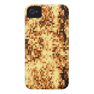 Oro brillante tejado iPhone 4 Case-Mate cárcasa