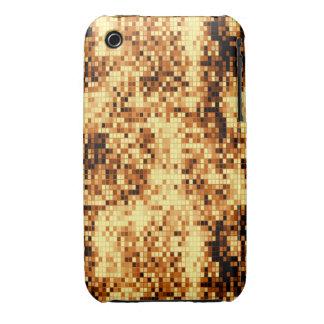 Oro brillante tejado Case-Mate iPhone 3 funda