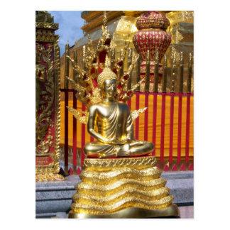 Oro Buda de Wat Phrathat Doi Suthep Postales