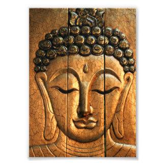 Oro Buda metálico Cojinete