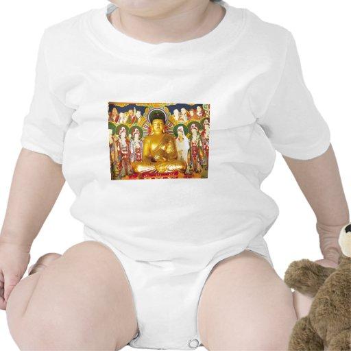 Oro Buda Trajes De Bebé