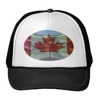 Oro canadiense MapleLeaf - éxito en diversidad Gorros Bordados