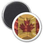 Oro canadiense MapleLeaf - éxito en diversidad Imán Para Frigorífico