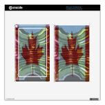 Oro canadiense MapleLeaf - éxito en diversidad Kindle Fire Pegatinas Skins