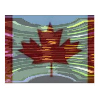 Oro canadiense MapleLeaf - éxito en diversidad Postal