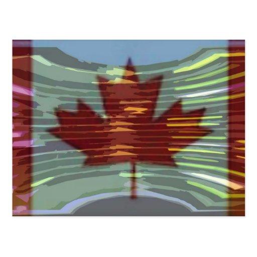 Oro canadiense MapleLeaf - éxito en diversidad Tarjetas Postales
