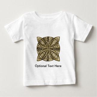 Oro céltico del nudo metálico t-shirt