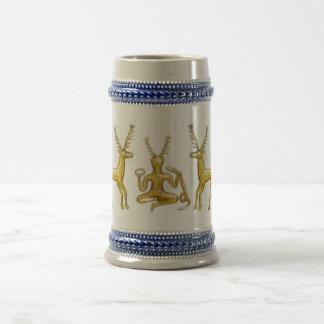 Oro Cernunnos y ciervos - Stein #2 Tazas De Café