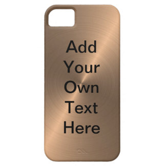 Oro color de rosa iPhone 5 funda