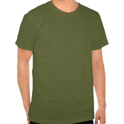 Oro conocido de encargo de la aceituna del año de  camiseta