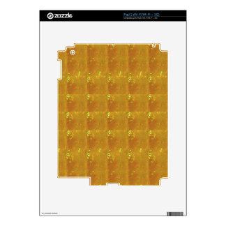 Oro curativo de REIKI: Oro del CRISTAL de las mues Skin Para El iPad 2