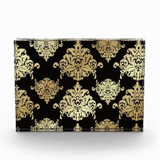 oro, damasco, antigüedad, vintage, modelo,