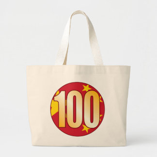 Oro de 100 CHINA Bolsa Tela Grande