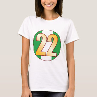 Oro de 22 NIGERIA Playera