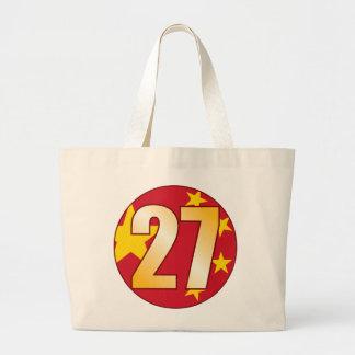 Oro de 27 CHINA Bolsa Tela Grande