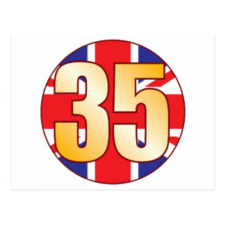 Oro de 35 Reino Unido Postal