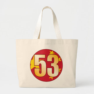 Oro de 53 CHINA Bolsa Tela Grande