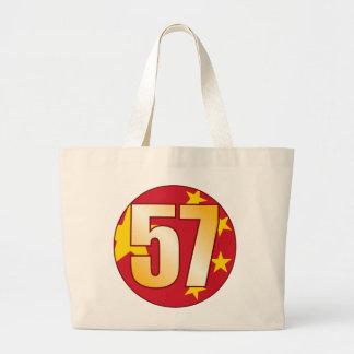 Oro de 57 CHINA Bolsa Tela Grande