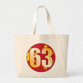 Oro de 63 CHINA Bolsa Tela Grande
