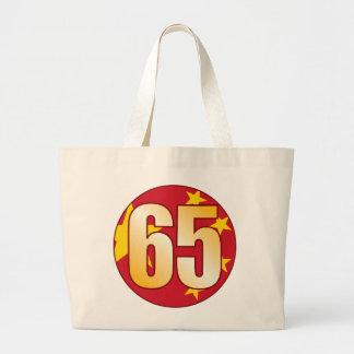 Oro de 65 CHINA Bolsa Tela Grande