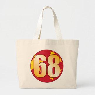 Oro de 68 CHINA Bolsa Tela Grande