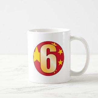 Oro de 6 CHINA Taza De Café