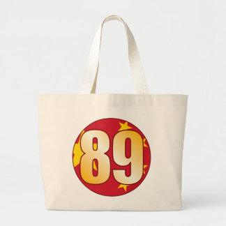 Oro de 89 CHINA Bolsa Tela Grande