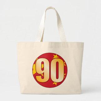 Oro de 90 CHINA Bolsa Tela Grande