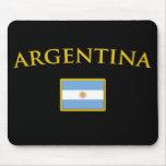 Oro de Argentina Alfombrillas De Ratones