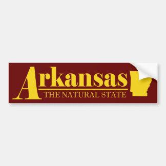 Oro de Arkansas Pegatina Para Auto