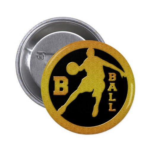 ORO DE B-BALL PINS