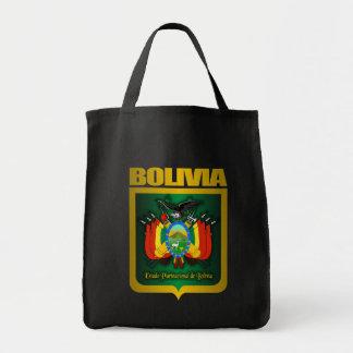 """Oro de Bolivia "" Bolsa Tela Para La Compra"