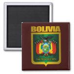 """""""Oro de Bolivia """" Imán Cuadrado"""