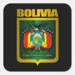"""Oro de Bolivia "" Pegatinas Cuadradases"