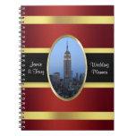 Oro de Borgoña del Empire State Building 03 Cuadernos