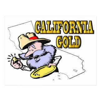 ORO DE CALIFORNIA POSTALES