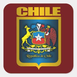 """""""Oro de Chile """" Pegatina Cuadrada"""