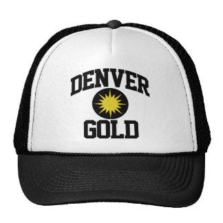 Oro de Denver Gorras De Camionero