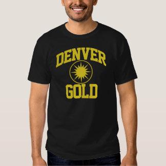 Oro de Denver Playeras