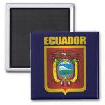 """""""Oro de Ecuador """" Imán Cuadrado"""