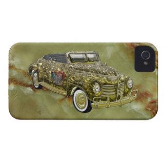 Oro de encargo de lujo 1940 de Plymouth P-10 del iPhone 4 Case-Mate Carcasa