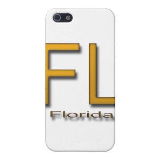 Oro de FL la Florida iPhone 5 Protector