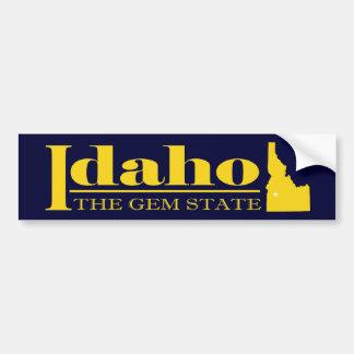 Oro de Idaho Pegatina Para Auto
