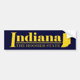 Oro de Indiana Pegatina Para Auto