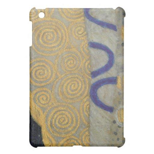 Oro de Klimt, modelo beige de Nouveau del arte neg