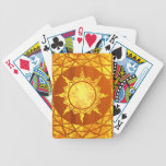 Oro de la Atlántida en la madera Baraja Cartas De Poker