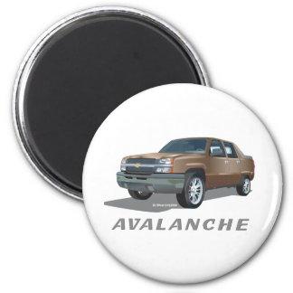 Oro de la avalancha de Chevrolet Imanes Para Frigoríficos