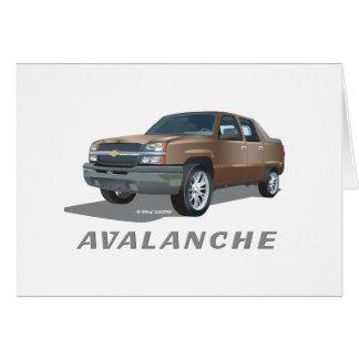 Oro de la avalancha de Chevrolet Tarjeton