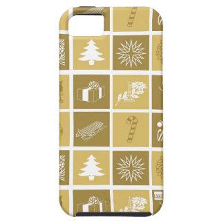 Oro de la caja de la casamata del iPhone 5 de los Funda Para iPhone SE/5/5s