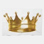 oro de la corona toallas de cocina